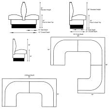 Built In Bench Seat Dimensions Restaurant Booth Dimension U2026 Pinteres U2026