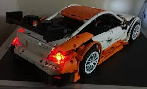 moc mercedes benz amg c63 dtm manual and rc in 1 10 scale page