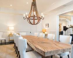 Large Round Dining Room Tables Best 25 Large Dining Room Table Ideas On Pinterest Paint Wood