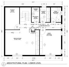 simple kitchen floor plans