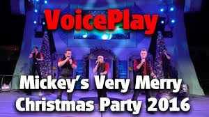 voiceplay full performance mickey u0027s very merry christmas party