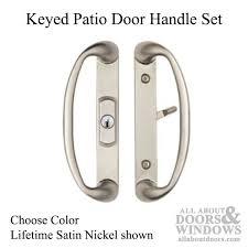 Keyed Patio Door Handle Patio Door Handle Set Center Key Position Choose Color
