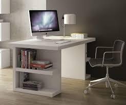 bureau laqué blanc brillant bureau design temahome multi storage 160 x 90 blanc