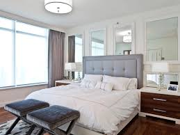 Small Bedroom Gray Walls Bedroom Decorating Modern Comfy Small Bedroom Wooden Bed Without