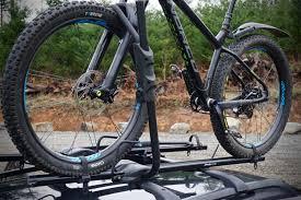 jeep cherokee mountain bike yakima raptor aero roof rack tray review singletracks mountain