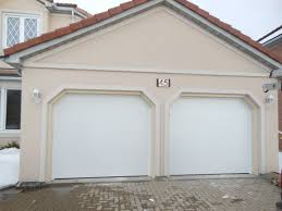 Overhead Doors Chicago by Modern White Wood Garage Door With Forest Garage Doors Chicago