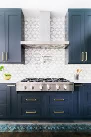 Blue And White Kitchen Ideas Blue Kitchen Cabinets Kitchen Design