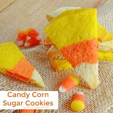 Sugar Cookie Halloween by Candy Corn Sugar Cookies Savory Experiments