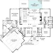 large ranch floor plans best 25 craftsman style house plans ideas on bungalow