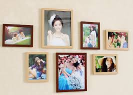 Home Decor Photo Frames Wall Photo Frame Set Of 8pcs Home Decoration Picture Frames Modern