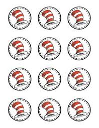 dr seuss hat template free pdf dr seuss photo booth props printable diy by chelawilliams dr