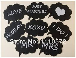 Photo Booth Prop Ideas New Product 8pcs Photo Booth Props For Wedding Party Black Card