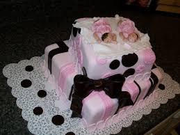 twin girls baby shower baby shower cake for twins erniz