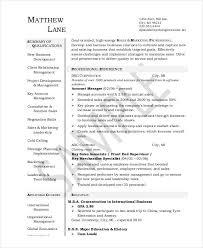 Account Executive Resume Sample by Executive Resume Examples 26 Free Word Pdf Documents Download