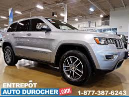 jeep grand cherokee 2017 grey 2017 jeep grand cherokee limited 4x4 automatique toit