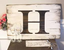 unique wedding guest books rustic wedding guest book alternative unique wedding guest sign