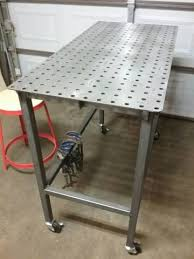 tab and slot welding table welding table build done dimensions regarding best tab and slot