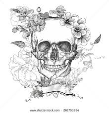 day of the dead skull stock images royalty free images u0026 vectors
