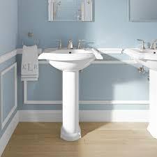 bathroom sinks home depot cadet pedestal combo bathroom sink in