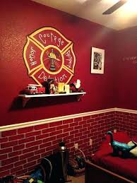 firefighter home decorations firefighter room decor fire truck decorations on toddler firefighter
