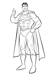superman coloring pages heroes superman coloring pages