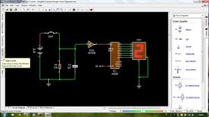 circuit wizard livewire tutorial counter circuit with seven