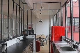 separation en verre cuisine salon brique de verre dans mur porteur nouveau fenªtre d atelier en