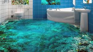 unique 3d bathroom floor designs that will blow your mind youtube