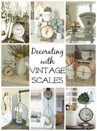 Where To Find Vintage Style - decorating with vintage scales and where to find them hometalk