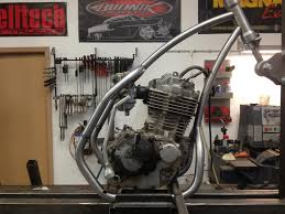 xr400 cafe racer project xr250 400 thumpertalk
