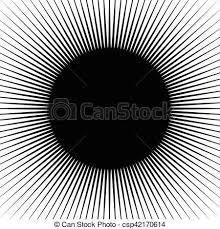 Starburst Design Clip Art Vector Clip Art Of Radial Lines Rays Beams Circular Pattern