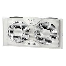 electrically reversible twin window fan buybeehive rakuten holmes electronically reversible twin window