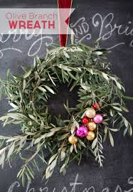 a happily simple olive branch wreath pepper design blog