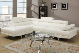 Modern Faux Leather Sofa Outstanding 3pc Modern Microfiber Faux Leather Sectional Sofa With