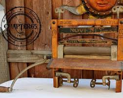Horseshoe Bench Laundry Wringer Antique Wringer Antique Laundry Antique