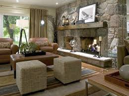 decorating a fireplace living room design with
