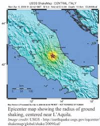 Foggia Italy Map by Scicomm Geological Digressions