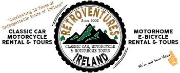 classic honda logo motorcycle tours u0026 rental ireland classic car u0026 motorhome hire