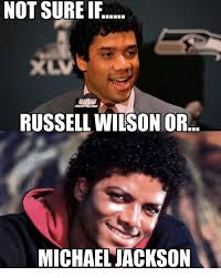 Russell Wilson Memes - not sure if russell wilson or michael jackson meme on esmemes com