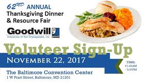 62nd annual goodwill thanksgiving dinner signup sheet signup
