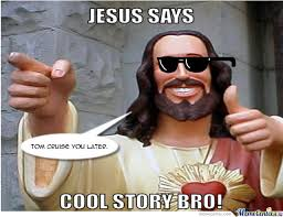 Jesus Says Meme - even jesus has dumb puns by walkingwood meme center