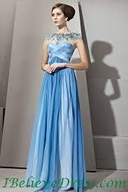 beading long formal evening dress blue full length patterns for