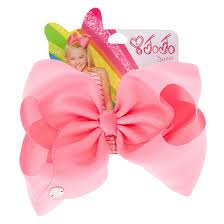 claires hair accessories jojo siwa large pink signature hair bow s ca