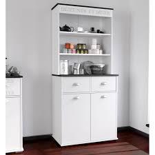 meuble cuisine 80 cm largeur asfeld buffet de cuisine 80 cm blanc achat vente buffet de
