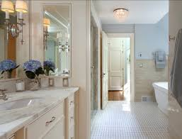 Traditional Home With Classic White Kitchen Home Bunch - White cabinets bathroom design