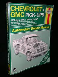 chevrolet u0026 gmc pick ups 1988 thru 1995 2 wd u0026 4wd suburban