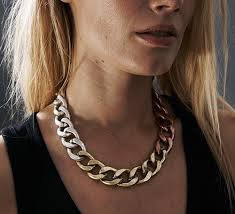 long chunky chain necklace images Chunky chain necklaces trend report jpg