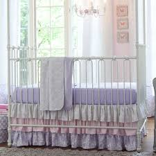 Pink And Gray Nursery Bedding Sets by Giveaway Crib Bedding Set From Carousel Designs