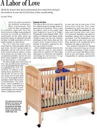 Plans For Baby Crib baby crib plans u2022 woodarchivist