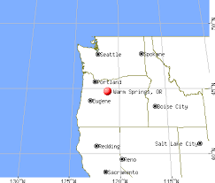map of oregon springs warm springs oregon or 97761 profile population maps real